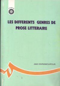 Les Differents Genres De Prose Litteraire