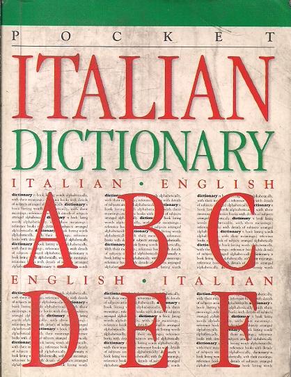 Pocket Italian Dictionary, Italian English-English Italian