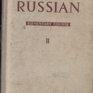 Russian Elementary Course, in Two Volumes, Set-2